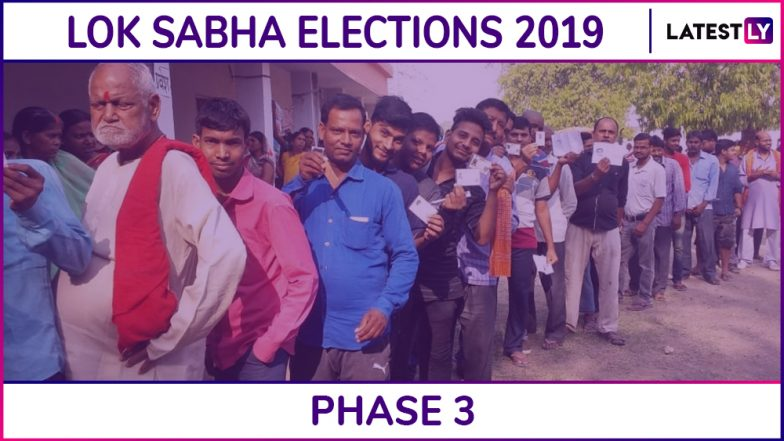 Karnataka Lok Sabha Elections 2019: Phase 3 Voting Ends For Shimoga, Gulbarga, Uttara Kannada, Dharwad and 10 Other Parliamentary Constituencies; 65.36% Voter Turnout Recorded