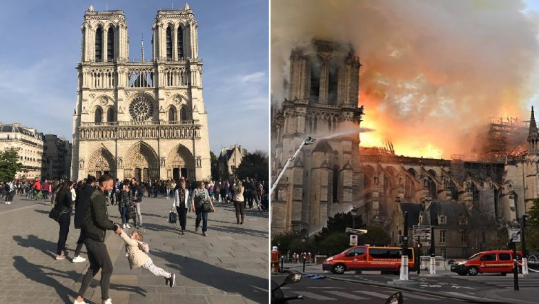 Notre Dame Cathedral Fire: Photographer Urges Internet to Find Man and Child Pictured Just Hours Before the Blaze, Tweet Goes Viral