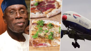 Rich Nigerians 'Ordering Pizza From London', Using British Airways For 4,000-Mile Delivery, Claims Govt Minister; Watch Video