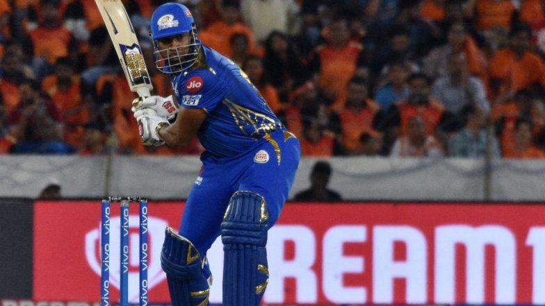 SRH vs MI IPL 2019: Kieron Pollard's One-Handed Six Off Siddharth Kaul Will Leave You Stunned, Watch Video