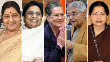 Women's Political Empowerment Day 2019: 5 Powerful Female Politicians From India in Recent Years