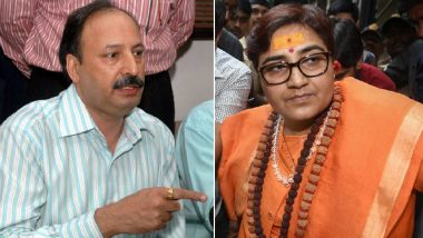 Sadhvi Pragya Thakur In Trouble Over Remarks Against 26/11 Martyr Hemant Karkare? MP CEO Received Complaint Against BJP Bhopal Candidate