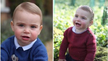 Ahead Of Prince Louis' First Birthday, Prince Williams And Kate Middleton Shared His Cute Unseen Pics On Instagram!