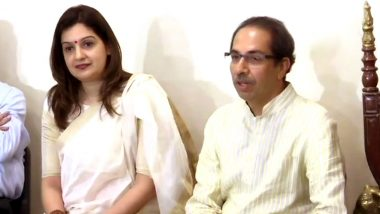 Priyanka Chaturvedi Joins Shiv Sena After Quitting Congress, Uddhav Thackeray Welcomes Her