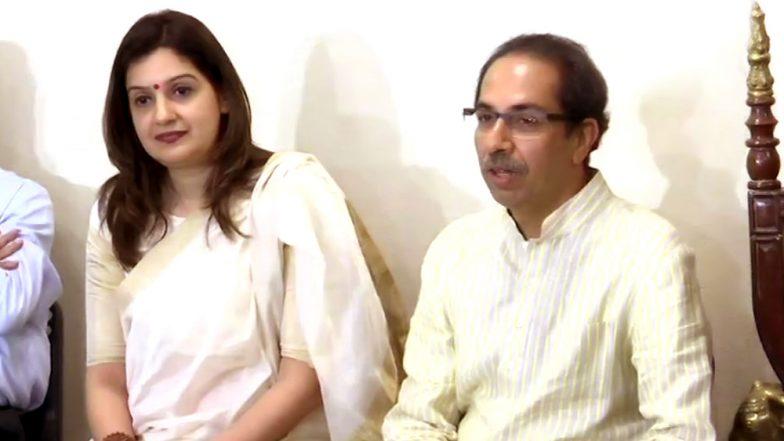 Priyanka Chaturvedi Joins Shiv Sena After Quitting Congress, Uddhav Thackeray Welcomes Her