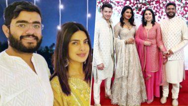 National Siblings Day 2019: Priyanka Chopra Jonas Cannot Wait for Siddharth Chopra-Ishittaa Kumar's Wedding! View Post