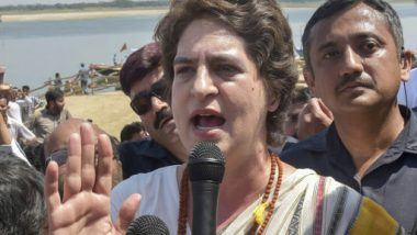 Congress Leader Priyanka Gandhi Takes Dig at PM Narendra Modi, Says When Country is Crying, Prime Minister Laughing in Campaigns