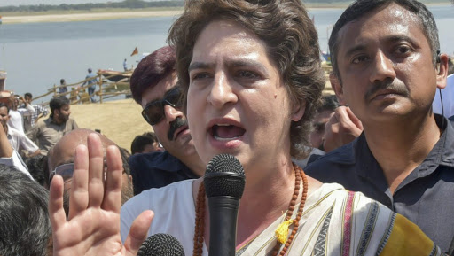 Farmers' Agitation: Priyanka Gandhi Hits Out at BJP After Delhi Police Bars Protesters From Entering City