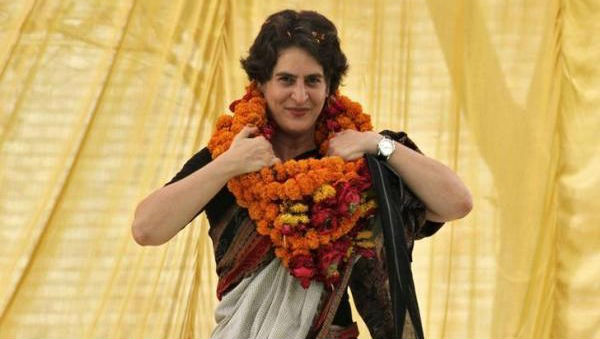 Priyanka Gandhi Praises Her Female Helicopter Pilot, Says 'Proud to Be Flown by a Lady'