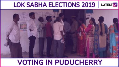 Puducherry Lok Sabha Elections 2019: Phase 2 Voting Underway for Puducherry Parliamentary Constituency