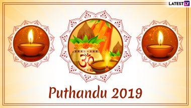 Puthandu Vazthukal 2019 Date and Significance: Know All About Tamil New Year Celebrations