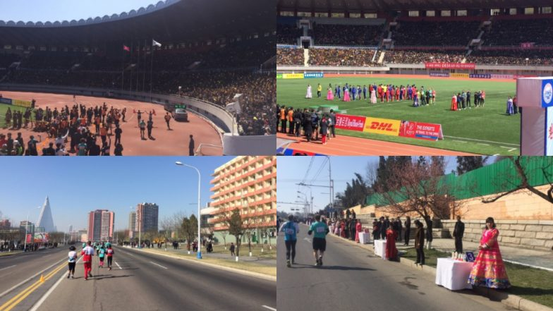 North Korea: Foreign Tourists Double in Pyongyang Marathon After Tension Eases, British Ambassador Tweets Colourful Pics of Event