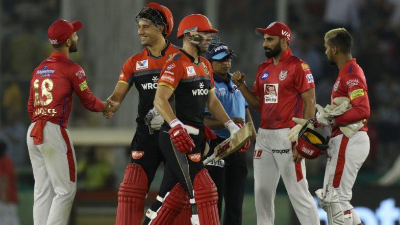 KXIP vs RCB Stat Highlights IPL 2019: Virat Kohli, AB de Villiers Help Royal Challengers Bangalore Register Season's First Win
