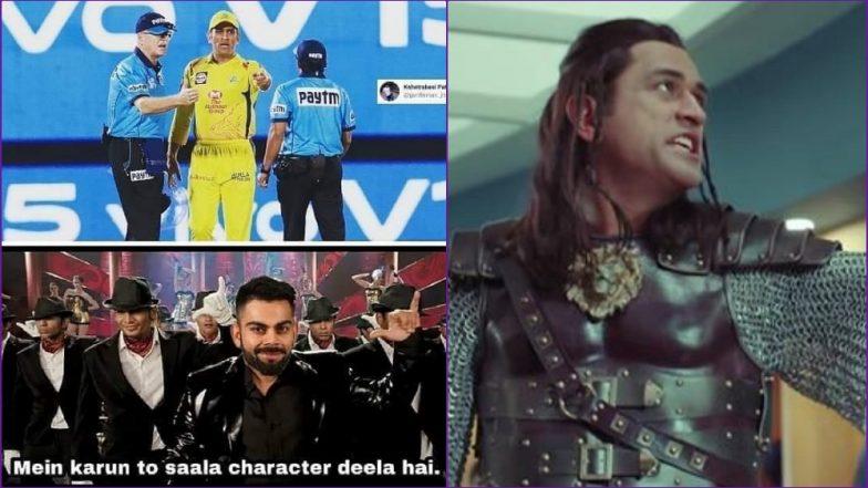 Forget Virat Kohli-RCB Funny Memes, Angry MS Dhoni Jokes Are the New Favourite of IPL 2019 Season