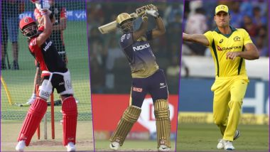 RCB vs KKR, IPL 2019 Match 17, Key Players: Virat Kohli to Andre Russell to Marcus Stoinis, These Cricketers Are to Watch Out for at M Chinnaswamy
