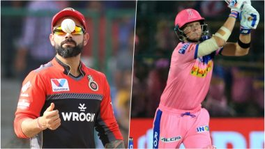 RCB vs RR Head-to-Head Record: Ahead of IPL 2019 Clash, Here Are Match Results of Last 5 Royal Challengers Bangalore vs Rajasthan Royals Encounters!
