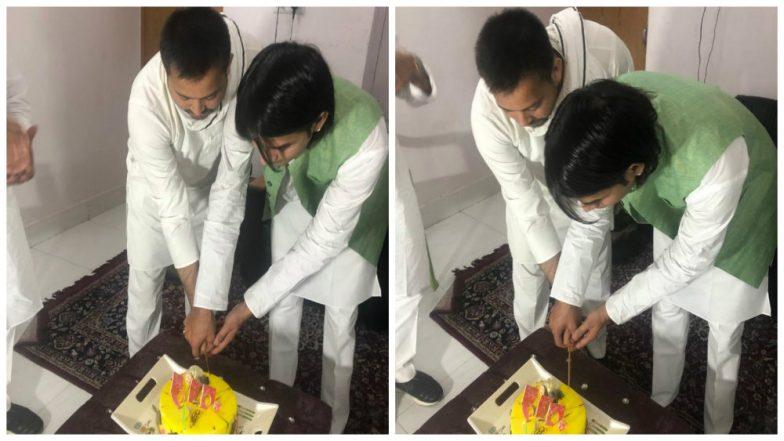 RJD Leader Tejashwi Yadav Celebrates Disgruntled Brother Tej Pratap's Birthday, Shares Picture Ending Speculations of Rift