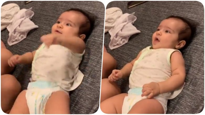 Rohit Sharma Shares an Adorable Video of Baby Samaira Learning Spanish Ahead of MI vs KXIP IPL 2019 Match