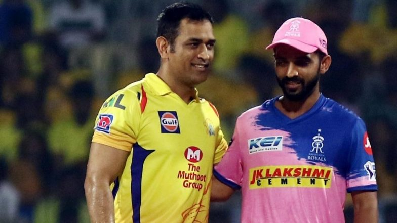 RR vs CSK Toss and Playing XI Live Updates: Chennai Super Kings Opt to Bowl as Rajasthan Royals Hand Riyan Parag Debut
