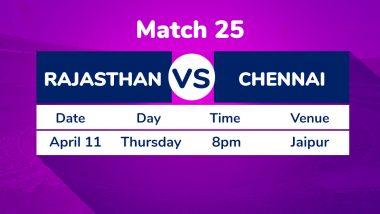 RR vs CSK, IPL 2019 Match 25 Preview: Rajasthan Royals Face Litmus Test Against Chennai Super Kings