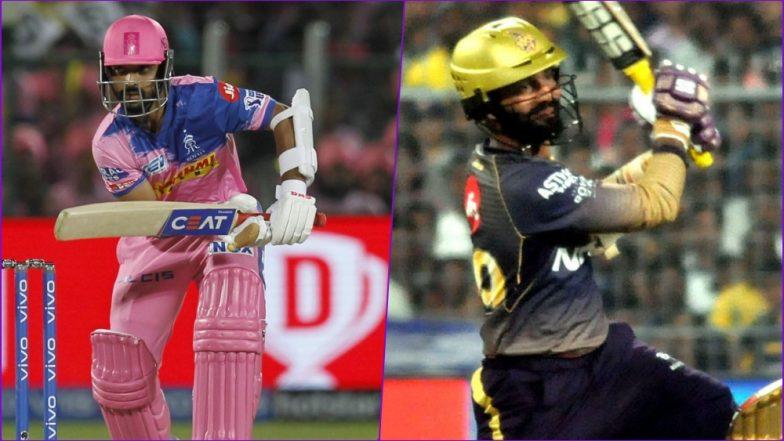 KKR vs RR Head-to-Head Record: Ahead of IPL 2019 Clash, Here Are Match Results of Last 5 Kolkata Knight Riders vs Rajasthan Royals Encounters!