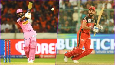 RR vs RCB Head-to-Head Record: Ahead of IPL 2019 Clash, Here Are Match Results of Last 5 Rajasthan Royals vs Royal Challengers Bangalore Encounters!