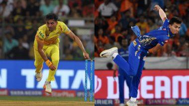 Chennai Super Kings' Deepak Chahar and Mumbai Indians' Rahul Chahar - Two Brothers, Different Teams, One Dream - VIVO IPL 2019 Trophy!
