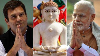 Mahavir Jayanti 2019: PM Narendra Modi, Rahul Gandhi and Others Wished People on Auspicious Day