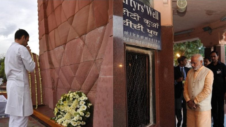 Jallianwala Bagh Massacre Centenary: PM Narendra Modi, Rahul Gandhi Pay Tributes to Martyrs