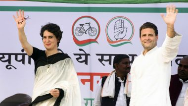 Priyanka Gandhi Directed Not to Hurt Prospects of SP-BSP-RLD Alliance Where Congress is Weak: Rahul Gandhi