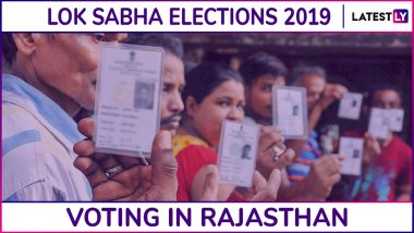 Rajasthan Lok Sabha Elections 2019: Voting Ends in 13 Parliamentary Constituencies, 67.65% Voter Turnout Recorded
