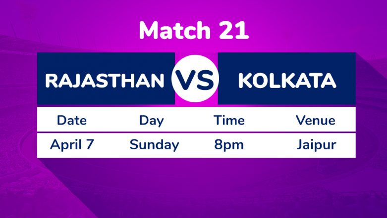 RR vs KKR, Match 21 IPL 2019 Preview: Confident Kolkata Knight Riders Up Against Rajasthan Royals