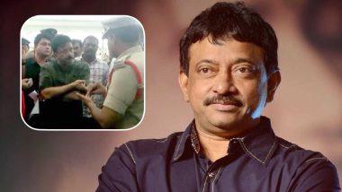 Lakshmi's NTR Controversy: Ram Gopal Varma aka RGV Stopped by Andhra Pradesh Police Officials at the Vijayawada Airport (Watch Video)