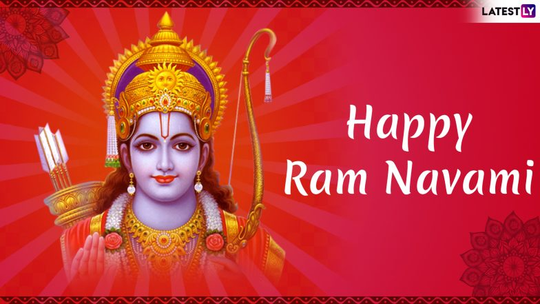 Shree Rama Navami 2019 Messages in Hindi: WhatsApp Stickers, SMS, Jai Shri Ram Images, Quotes and GIF Greetings to Wish on Last Day of Navaratri