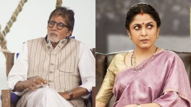 Amitabh Bachchan, Ramya Krishnan Reunite After Two Decades in 'Uyarntha Manithan'