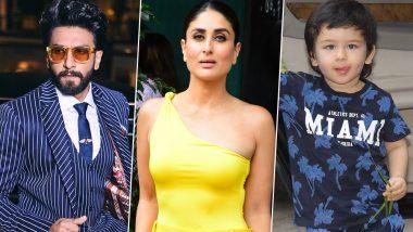 Kareena Kapoor Khan Asks Paparazzi to Click Ranveer Singh Instead of Taimur Ali Khan!