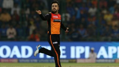 SRH vs MI, VIVO IPL 2019: Rashid Khan's Fantastic Record of Winning Two MOM Against Mumbai Indians in IPL 2018 Is Quite Exciting