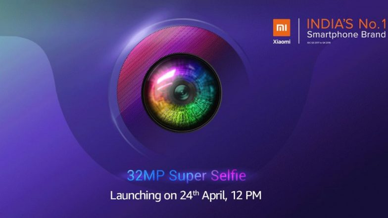Xiaomi Redmi Y3 With 32MP Selfie Camera Scheduled To Launch in India on April 24