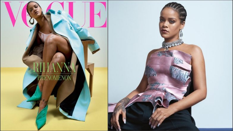 Rihanna Is Her Usual 'Atypical' Self On Vogue Cover: The Pics Made Us Go Wow!
