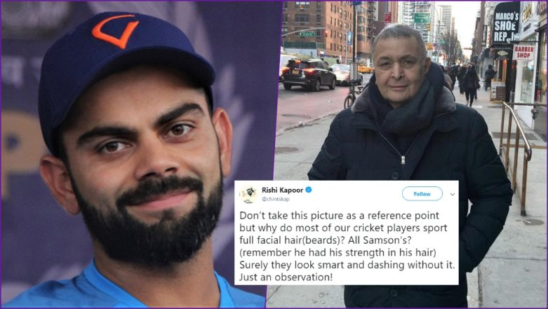 Indian Cricket Team for ICC Cricket World Cup 2019: Rishi Kapoor Compares 'Men in Beard' With Samson, Know Who is This Mythological Character?