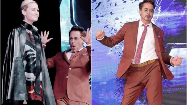 Avengers: Endgame: From Robert Downey Jr's Dance Moves to Brie Larson's Gorgeous Look, the Seoul Press Conference Was Truly Entertaining - View Pics!