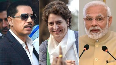 Priyanka Gandhi Will Pose Strong Challenge to PM Narendra Modi in Lok Sabha Elections 2019, Says Robert Vadra