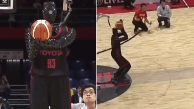 Toyota Engineers Design Robot in Japan That Plays Basketball And People Think the End is Near! (Watch Video)