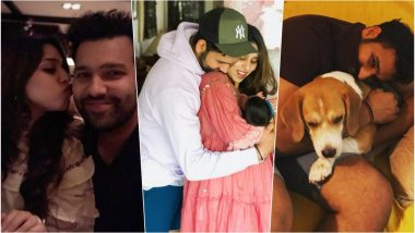 Happy Birthday, Rohit Sharma! Family Photos of Indian Cricketer With Wife Ritika and Daughter Samaira Are So Adorable