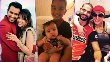 Ahead of DC vs MI IPL 2019 Match, Rohit Sharma's Daughter and Shikhar Dhawan's Son Pose for an Adorable Photo!