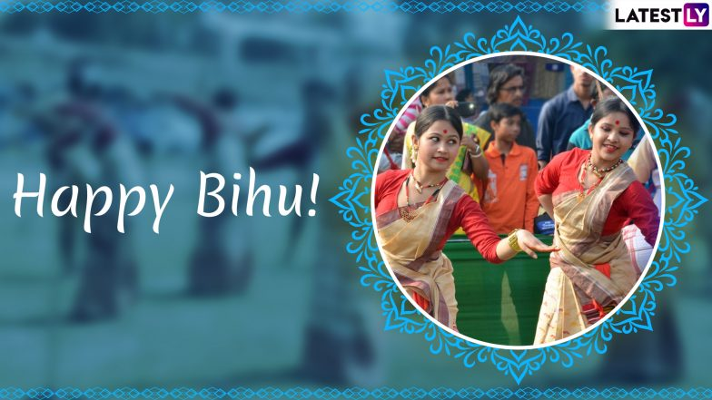 Rongali Bihu Images & Bohag Bihu HD Wallpapers for Free Download Online: Wish Happy Assamese New Year 2019 With GIF Greetings & WhatsApp Sticker Messages