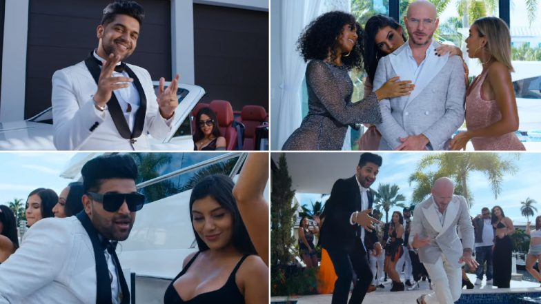 'Slowly Slowly': Guru Randhawa and Pitbull Win Over The Fans With Their First, Peppy Combo - Watch Video