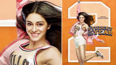 Student of the Year 2: Ananya Panday As Shreya Is Aiming for the Sky in the New Poster – View Pic