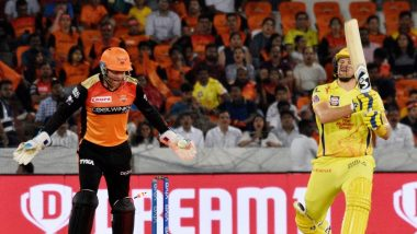 SRH vs CSK, IPL 2019, Stat Highlights: Sunrisers Hyderabad's Defeats Chennai Super Kings By Six Wickets to Keep Their Playoffs Hopes Alive
