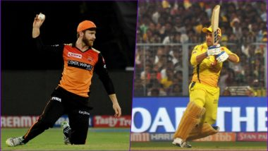 SRH vs CSK Head-to-Head Record: Ahead of IPL 2019 Clash, Here Are Match Results of Last 5 Sunrisers Hyderabad vs Chennai Super Kings Encounters!